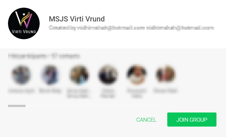 Join MSJS Virti Vrund